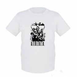Детская футболка Stalker Logo - FatLine