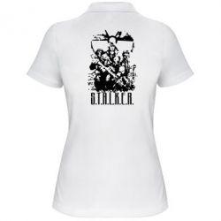 Женская футболка поло Stalker Logo - FatLine