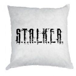 Подушка Stalker Logotype