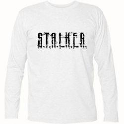 Футболка с длинным рукавом Stalker Logotype