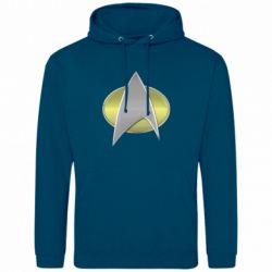 Мужская толстовка Star Trek Gold Logo - FatLine