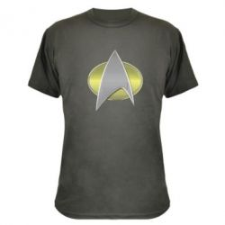 Камуфляжная футболка Star Trek Gold Logo - FatLine