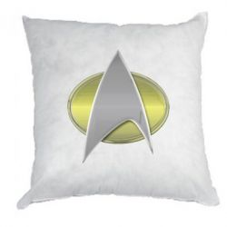 Подушка Star Trek Gold Logo - FatLine