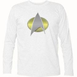 Футболка с длинным рукавом Star Trek Gold Logo - FatLine