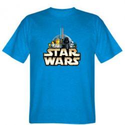 Мужская футболка Star Wars Lego - FatLine