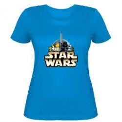 Женская футболка Star Wars Lego - FatLine