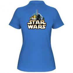Женская футболка поло Star Wars Lego - FatLine