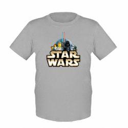 Детская футболка Star Wars Lego - FatLine