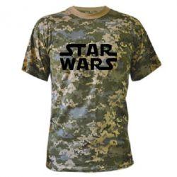 Камуфляжна футболка STAR WARS - FatLine