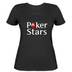 Женская футболка Stars of Poker - FatLine