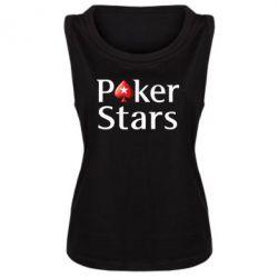 Женская майка Stars of Poker - FatLine