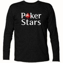 Футболка с длинным рукавом Stars of Poker - FatLine