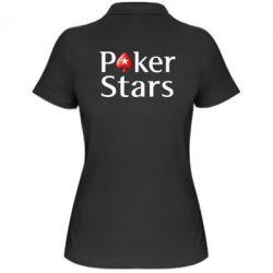 Женская футболка поло Stars of Poker