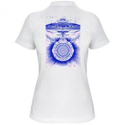 Женская футболка поло Startrek graphic
