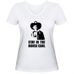 ������� �������� � V-�������� ������� Stay in the house Carl