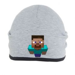 Шапка Steve from Minecraft - FatLine