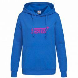 Женская толстовка STI Logo - FatLine