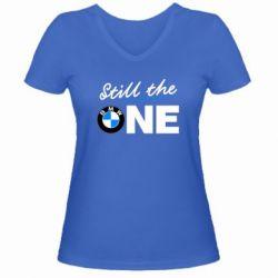 Женская футболка с V-образным вырезом Still the one - FatLine