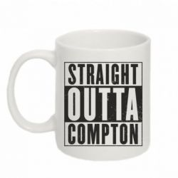 Кружка 320ml Straight outta compton - FatLine