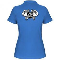 Женская футболка поло Street Workout Крылья - FatLine
