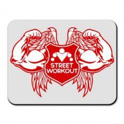 Коврик для мыши Street Workout Крылья - FatLine