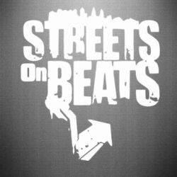 Наклейка Streets On Beats - FatLine