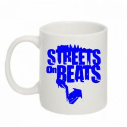 Кружка 320ml Streets On Beats - FatLine