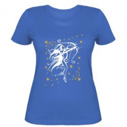 Женская футболка Стрелец - FatLine