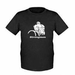 Детская футболка Strongman - FatLine