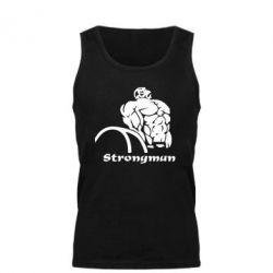 Мужская майка Strongman - FatLine