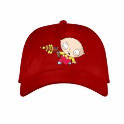 Детская кепка Стьюи с бластером - FatLine