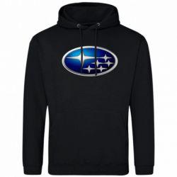 Мужская толстовка Subaru 3D Logo