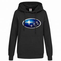 Женская толстовка Subaru 3D Logo - FatLine