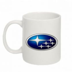 Кружка 320ml Subaru 3D Logo - FatLine