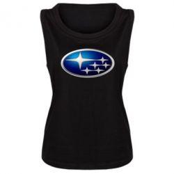 Женская майка Subaru 3D Logo - FatLine