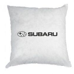Подушка Subaru logo - FatLine