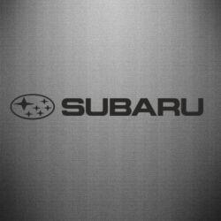 Наклейка Subaru logo - FatLine