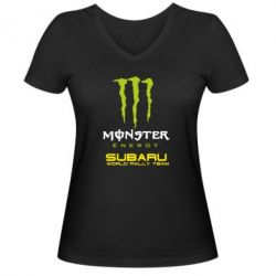 ������� �������� � V-�������� ������� Subaru Monster Energy - FatLine