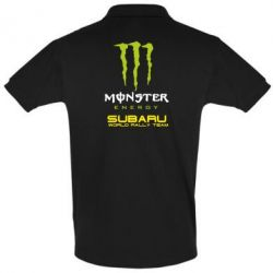 Футболка Поло Subaru Monster Energy