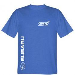 Мужская футболка Subaru STI Logo - FatLine