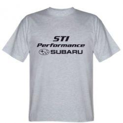 Мужская футболка Subaru STI - FatLine
