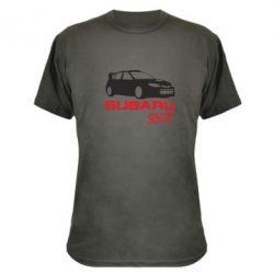 Камуфляжная футболка Subaru STI - FatLine