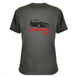 Камуфляжна футболка Subaru STI