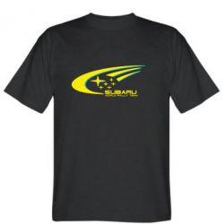 Мужская футболка Subaru WRT - FatLine