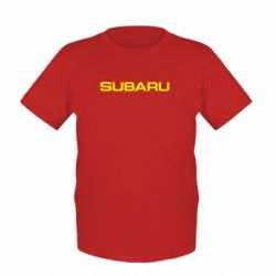 Детская футболка Subaru - FatLine