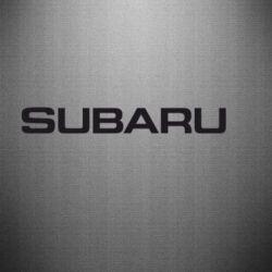 Наклейка Subaru - FatLine