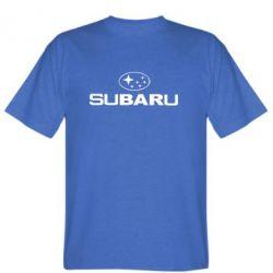 Мужская футболка Subaru - FatLine