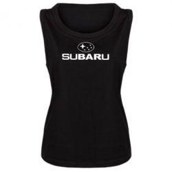 Майка жіноча Subaru - FatLine