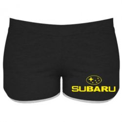 Жіночі шорти Subaru - FatLine