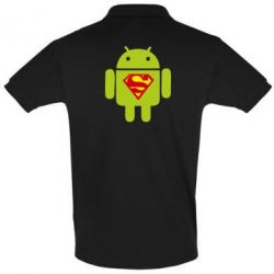 Футболка Поло Super Android - FatLine